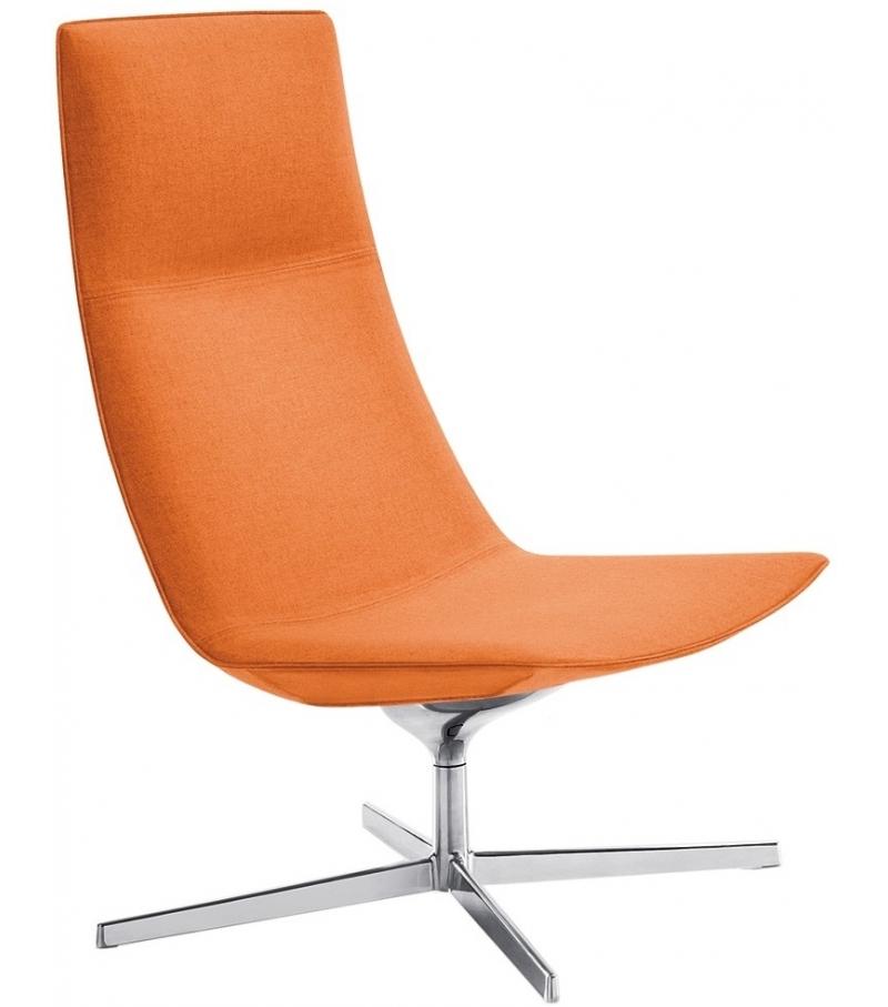 Catifa 70 Arper Lounge Armchair With 4 Way Base Milia Shop