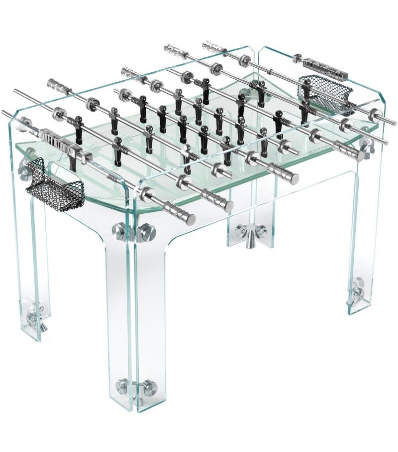 Teckell cristallino calcio balilla milia shop - Calcio balilla design ...