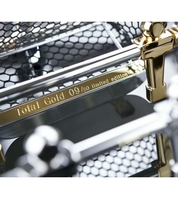 Teckell Cristallino Gold Limited Edition Calcio Balilla