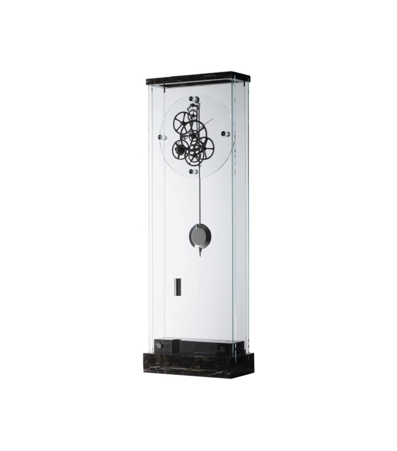 black contemporary clocks tennyson hermle floors grandfather products finish clock floor