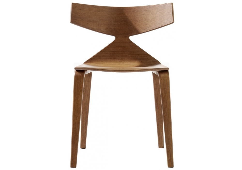 Saya arper chaise con 4 pieds en bois milia shop for Chaise 4 pieds bois