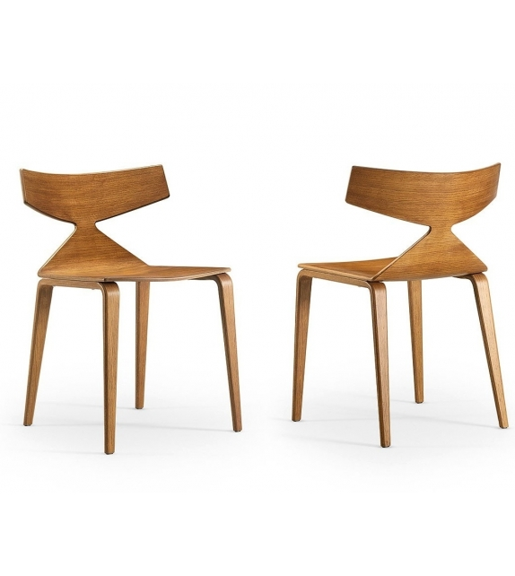 saya arper chaise con 4 pieds en bois milia shop. Black Bedroom Furniture Sets. Home Design Ideas