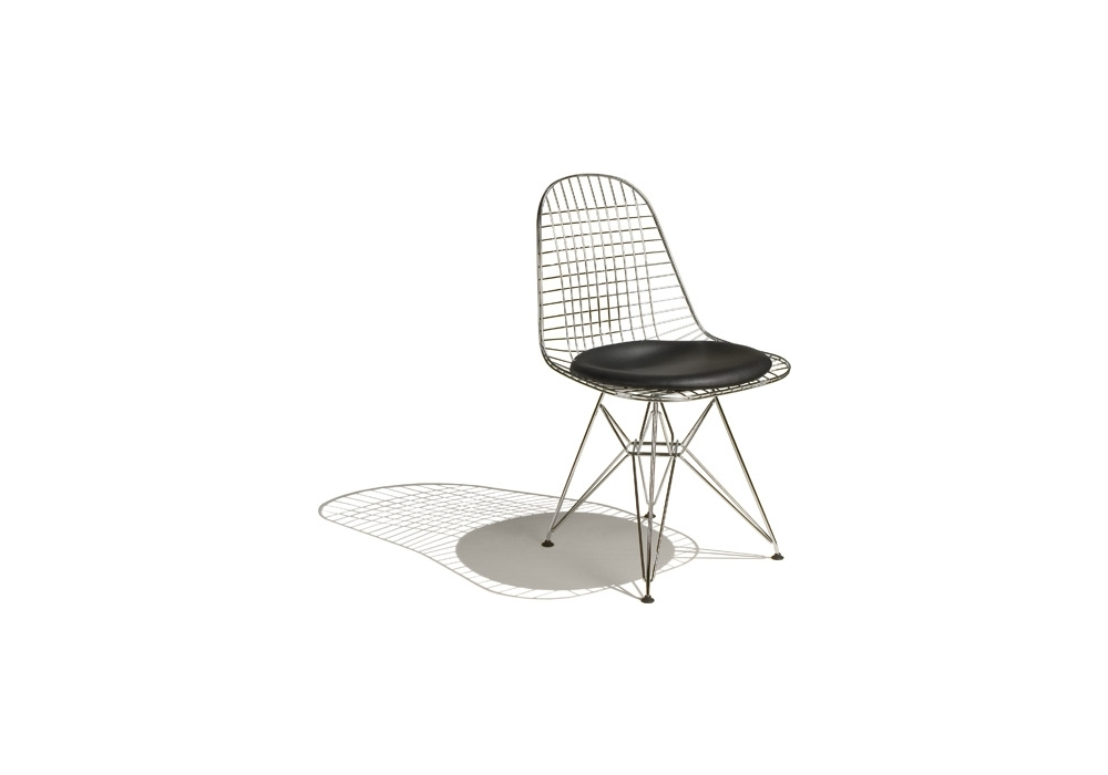 Wire chair dkr 5 chaise milia shop for Chaise haute vitra