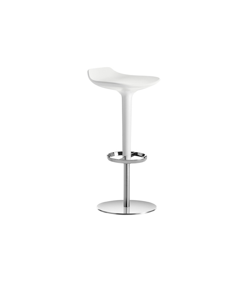 Babar Arper Stool With Backrest