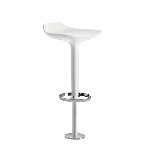 Babar Arper Stool With Backrest & Floor Fixing