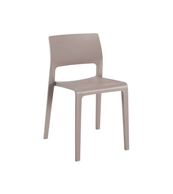 Juno Arper Chair With Open Backrest