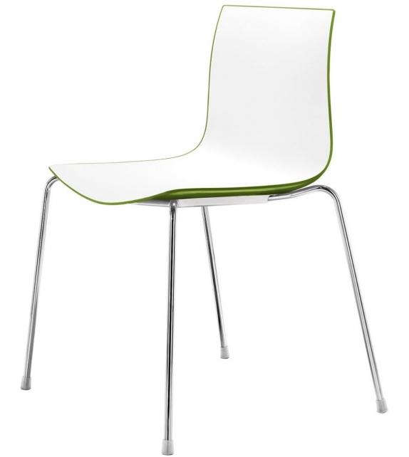 Catifa 46 Arper Chair With Steel Legs