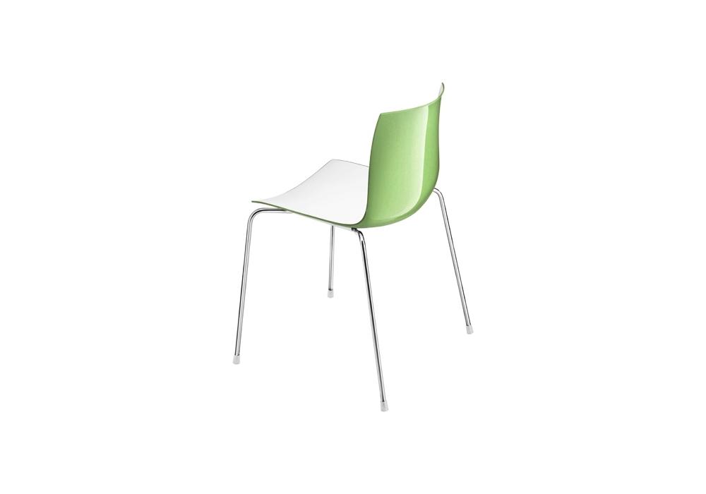 catifa 46 arper chaise con 4 pieds en acier milia shop. Black Bedroom Furniture Sets. Home Design Ideas