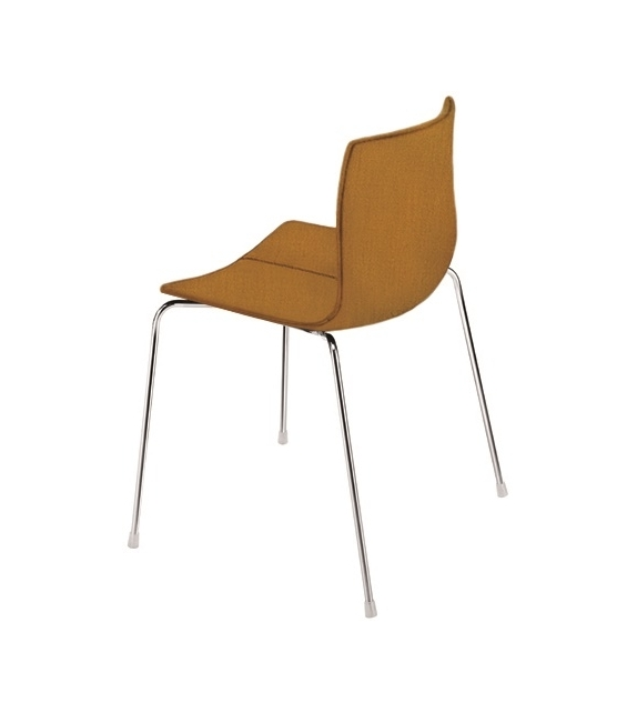 Catifa 46 Arper Chair With Cover And Steel Legs