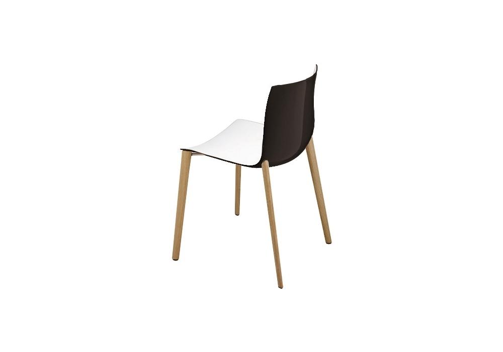 catifa 46 arper stuhl auf holz gestell milia shop. Black Bedroom Furniture Sets. Home Design Ideas