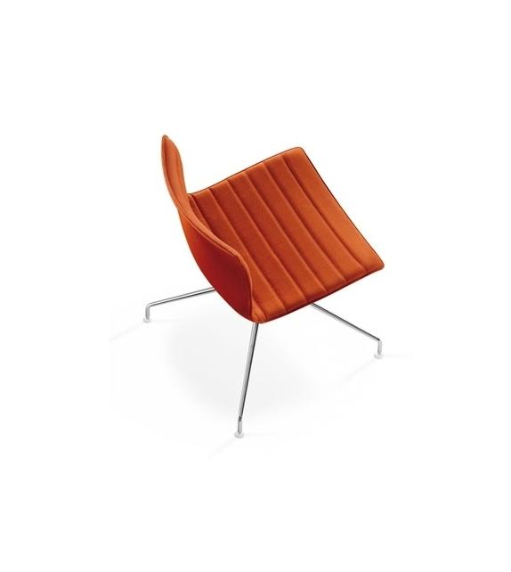 catifa 46 arper gepolstert stuhl auf drehbarem spinnenfu milia shop. Black Bedroom Furniture Sets. Home Design Ideas