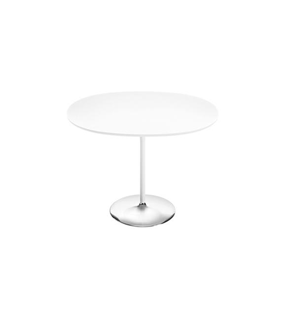 duna arper oval table with mdf top milia shop. Black Bedroom Furniture Sets. Home Design Ideas