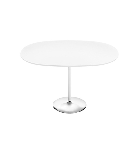 Duna Arper Oval Table With MDF Top
