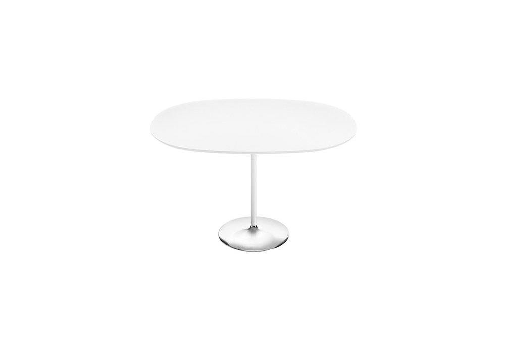 Duna Arper Oval Table With Mdf Top Milia Shop