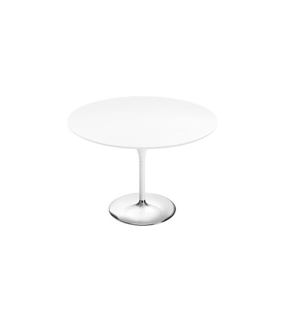 duna arper round table with mdf top milia shop. Black Bedroom Furniture Sets. Home Design Ideas