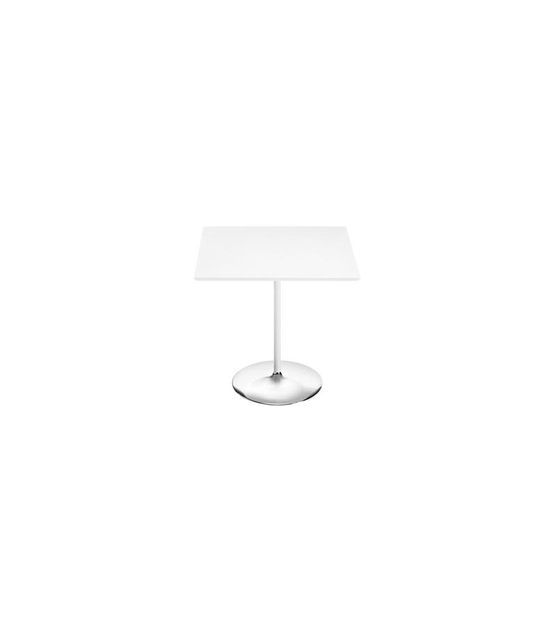 duna arper square table with mdf top milia shop. Black Bedroom Furniture Sets. Home Design Ideas