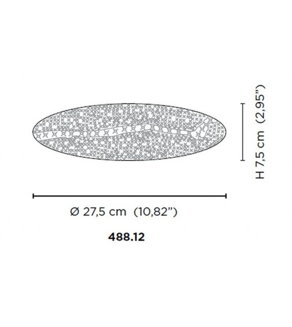 Murrine Opache 488.12 Venini Assiette