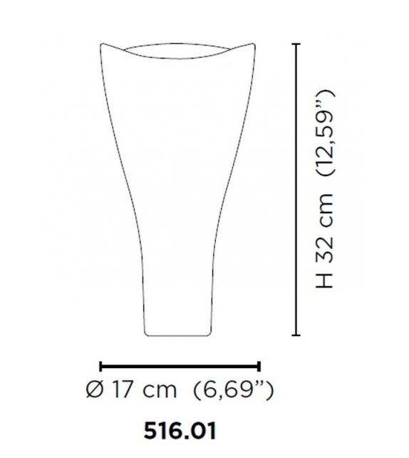 Battuti 516.01 Venini Vase