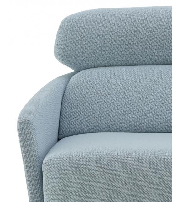 Okura ligne roset fauteuil canap 2 places avec dossier - Canape avec dossier haut ...