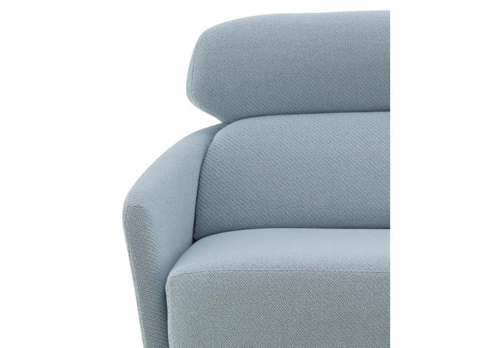 okura ligne roset divano 2 posti con schienale alto milia shop. Black Bedroom Furniture Sets. Home Design Ideas
