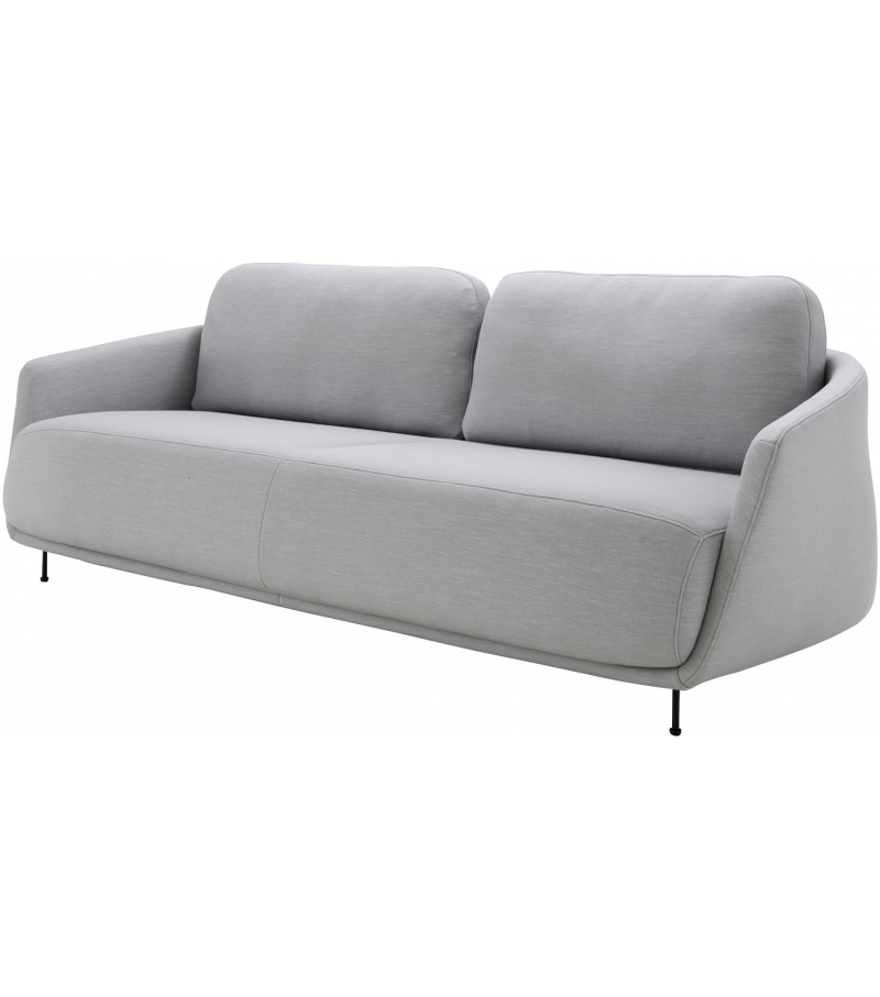 okura ligne roset 3 seater sofa with low backrest milia shop. Black Bedroom Furniture Sets. Home Design Ideas