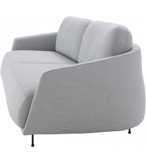 okura ligne roset fauteuil canap 3 places avec dossier bas - Canape Bas