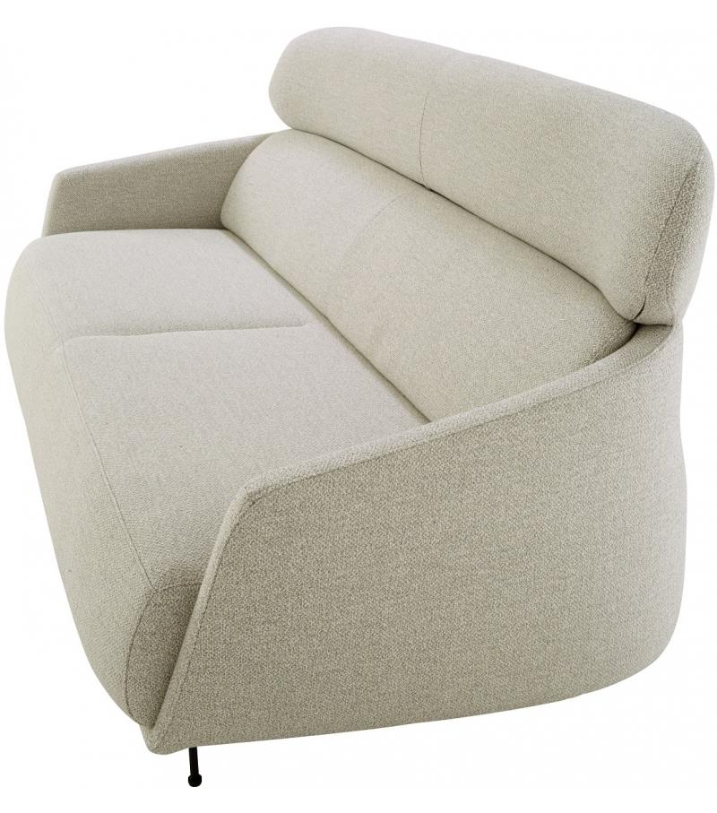 Okura ligne roset sof 3 plazas con respaldo alto milia shop for Sofas de 3 plazas