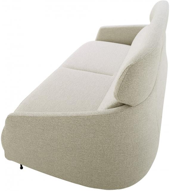 okura ligne roset fauteuil canap 3 places avec dossier haut milia shop. Black Bedroom Furniture Sets. Home Design Ideas