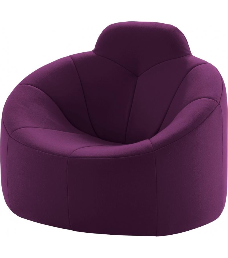 pumpkin ligne roset armchair with high backrest milia shop. Black Bedroom Furniture Sets. Home Design Ideas