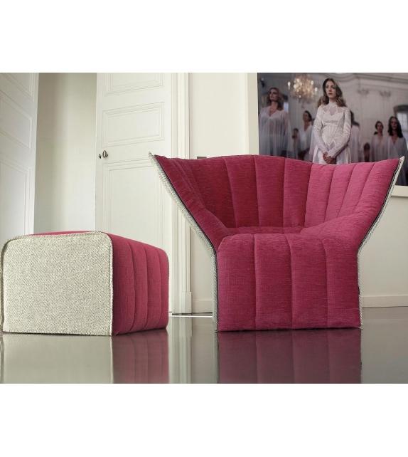 moel ligne roset sessel mit hoher r ckenlehne milia shop. Black Bedroom Furniture Sets. Home Design Ideas