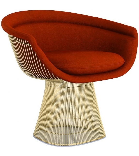 Platner Gold Knoll Lounge Chair
