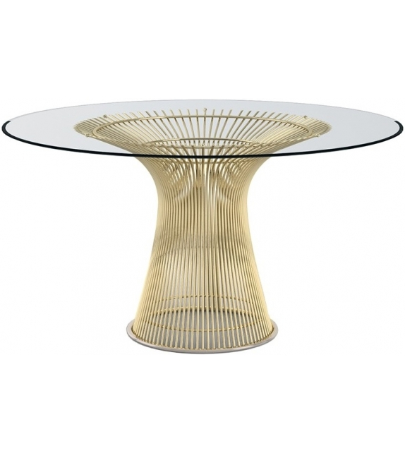 Platner Gold Knoll Dining Table