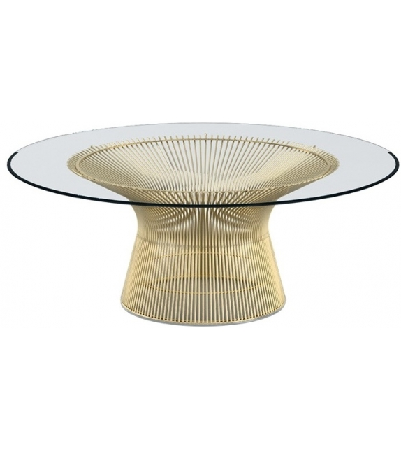 Platner Gold Knoll Coffee Table