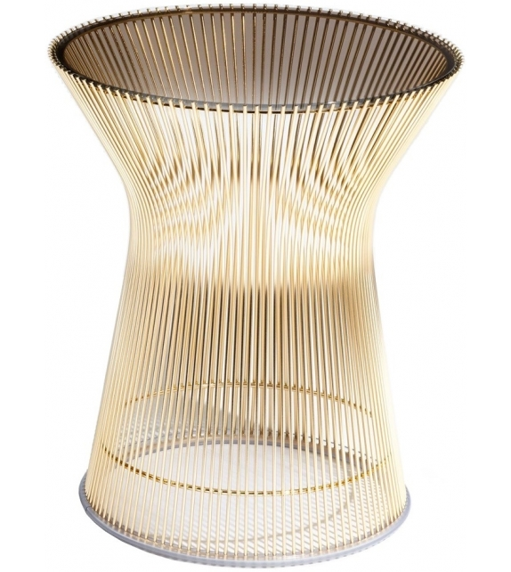 Platner Gold Knoll Side Table
