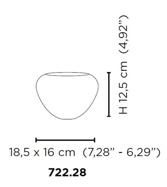 Incisi 722.28 Venini Vase
