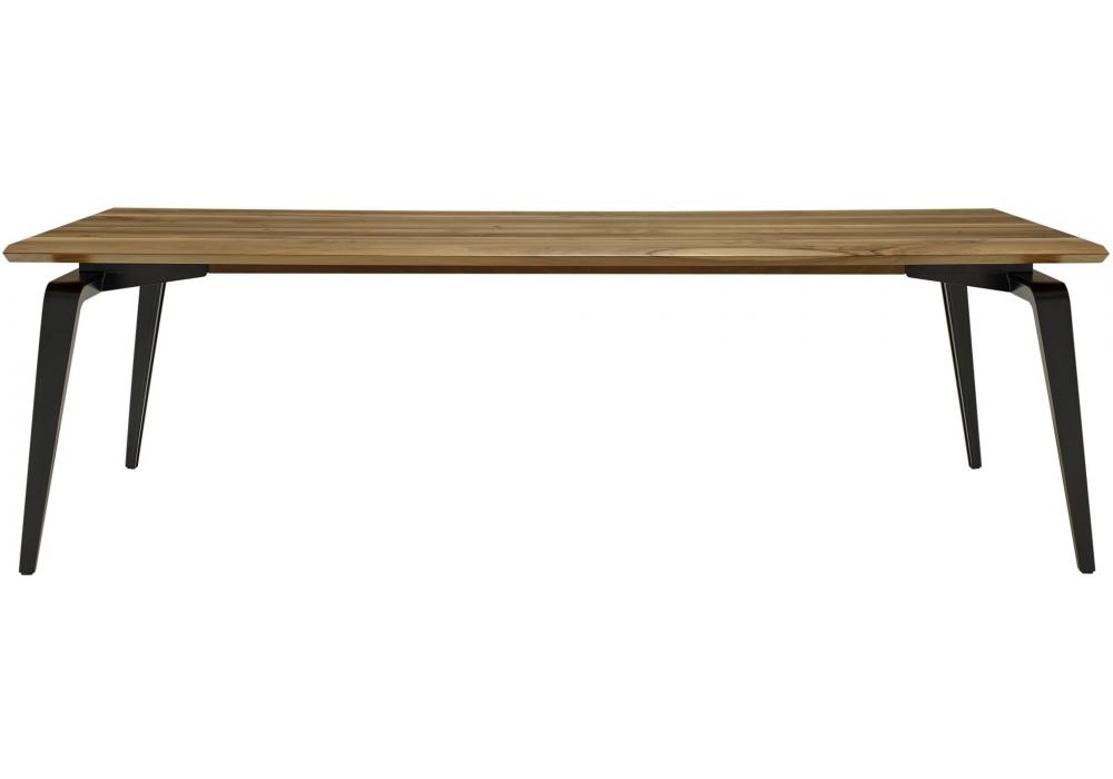 odessa ligne roset tisch mit holzplatte milia shop. Black Bedroom Furniture Sets. Home Design Ideas