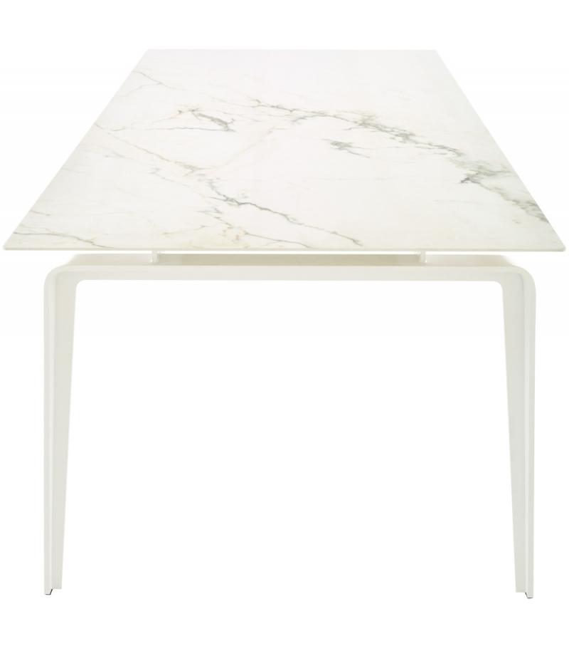 Odessa Ligne Roset Tisch Mit Platte Aus Keramik Steinzeug