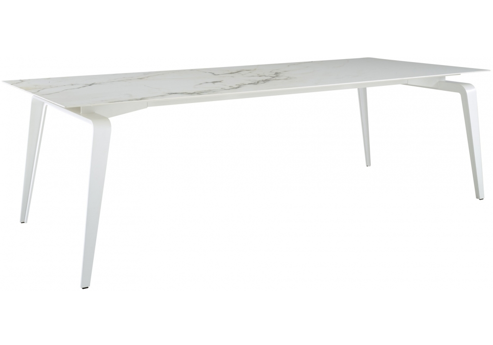 Odessa ligne roset table with top in ceramic stoneware for Table yoyo ligne roset