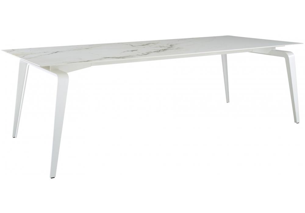odessa ligne roset tisch mit platte aus keramik steinzeug. Black Bedroom Furniture Sets. Home Design Ideas