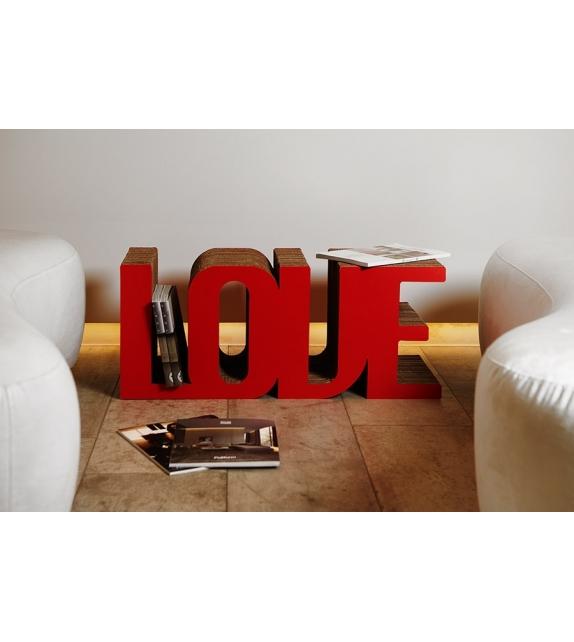 K-Love Kubedesign Klein Tisch / Zeitschriftenständer