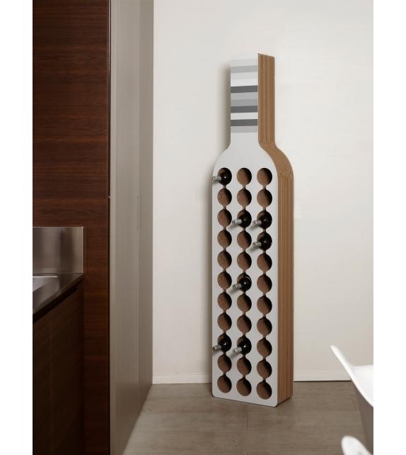 Bodega Kubedesign Bottle Rack
