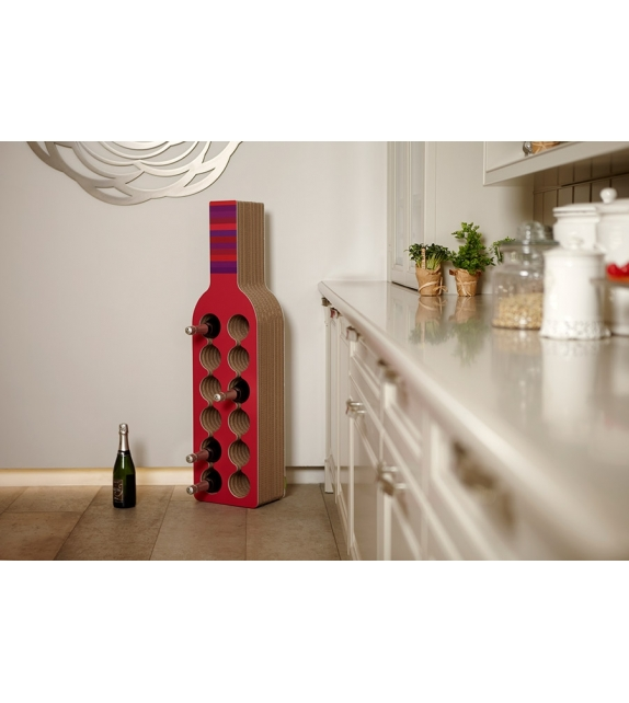 Mini-Bodega Kubedesign Bottle Rack