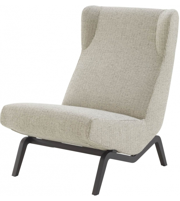 Archi Ligne Roset Armchair With Metal Base