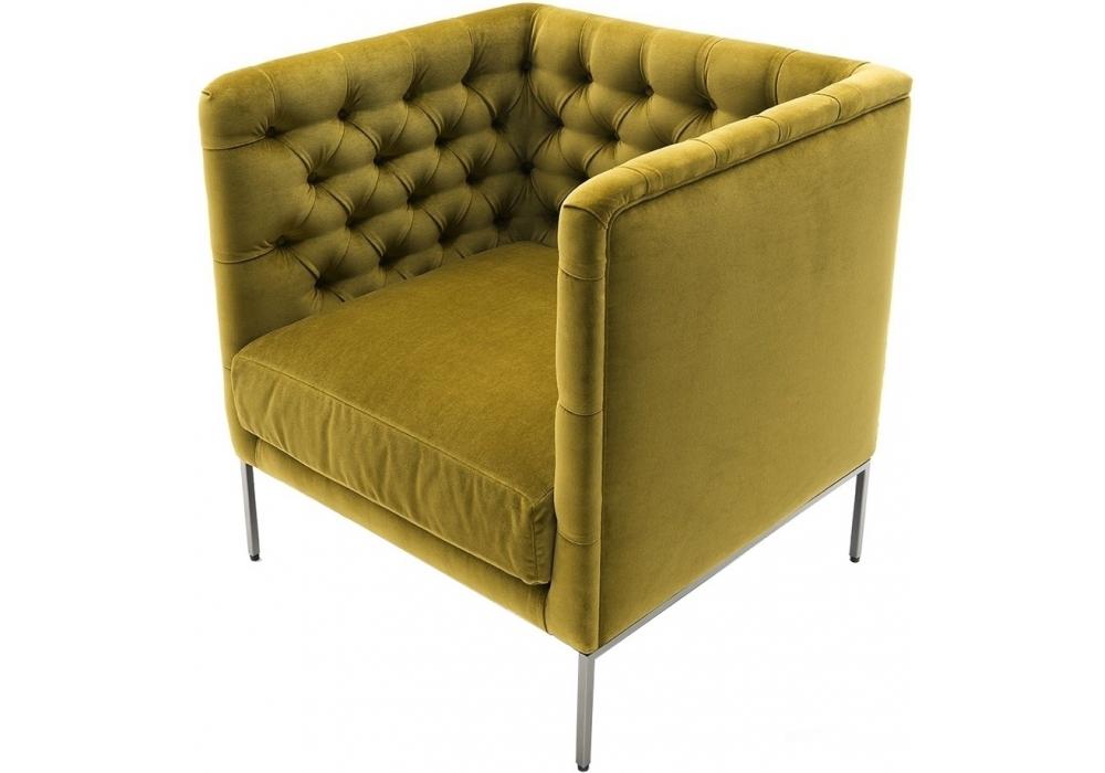 Lipp living divani armchair milia shop for Chaise longue divani e divani