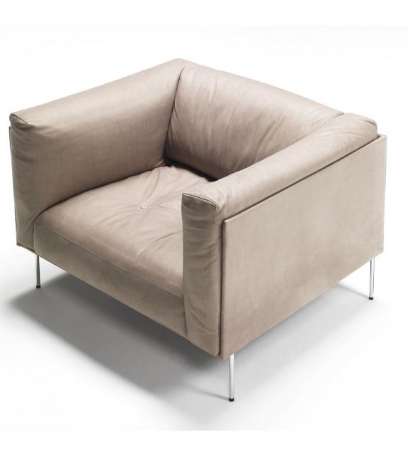 Rod living divani armchair milia shop for Chaise longue divani e divani