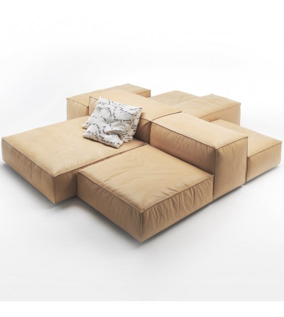 Extra Soft Living Divani Modular Sofa - Milia Shop