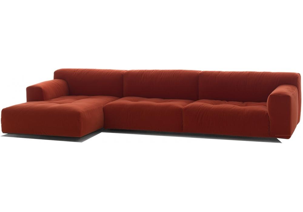 Softwall divano modulare living divani milia shop - Divano modulare ...