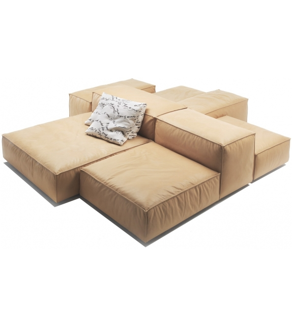 extra soft divano modulare living divani milia shop. Black Bedroom Furniture Sets. Home Design Ideas