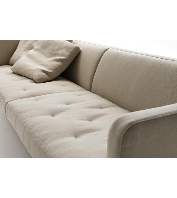 Easy Lipp Living Divani Fixed Sofa - Milia Shop