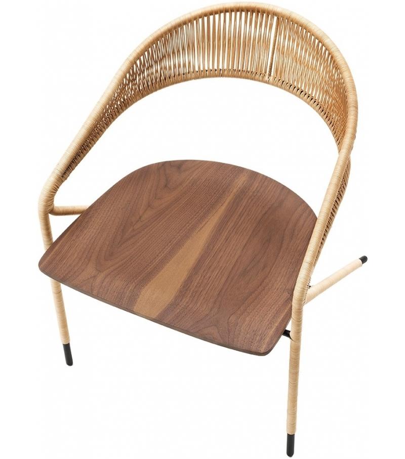 George 39 s living divani wicker small armchair milia shop for Chaise longue divani e divani